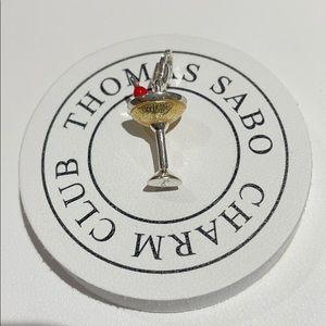 Thomas Sabo martini glass charm🍸